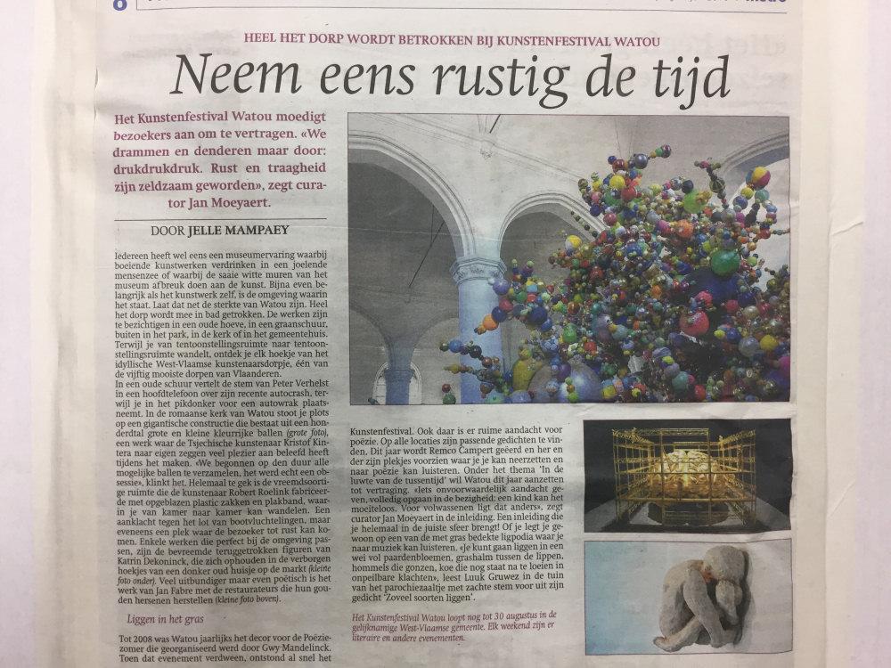 Katrin Dekoninck   CV/Press